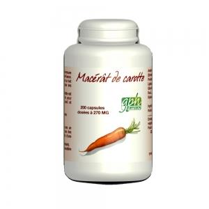 Macérât de carotte capsules