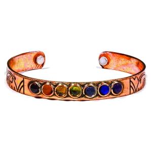 Bracelet cuivre 7 Chakras
