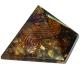 Pyramide Orgone Oeil de Tigre